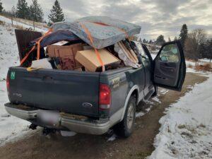 A trip to the dump