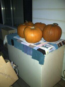 deepfreeze and pumpkins
